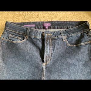 NYDJ Marilyn Straight Leg Blue Jeans